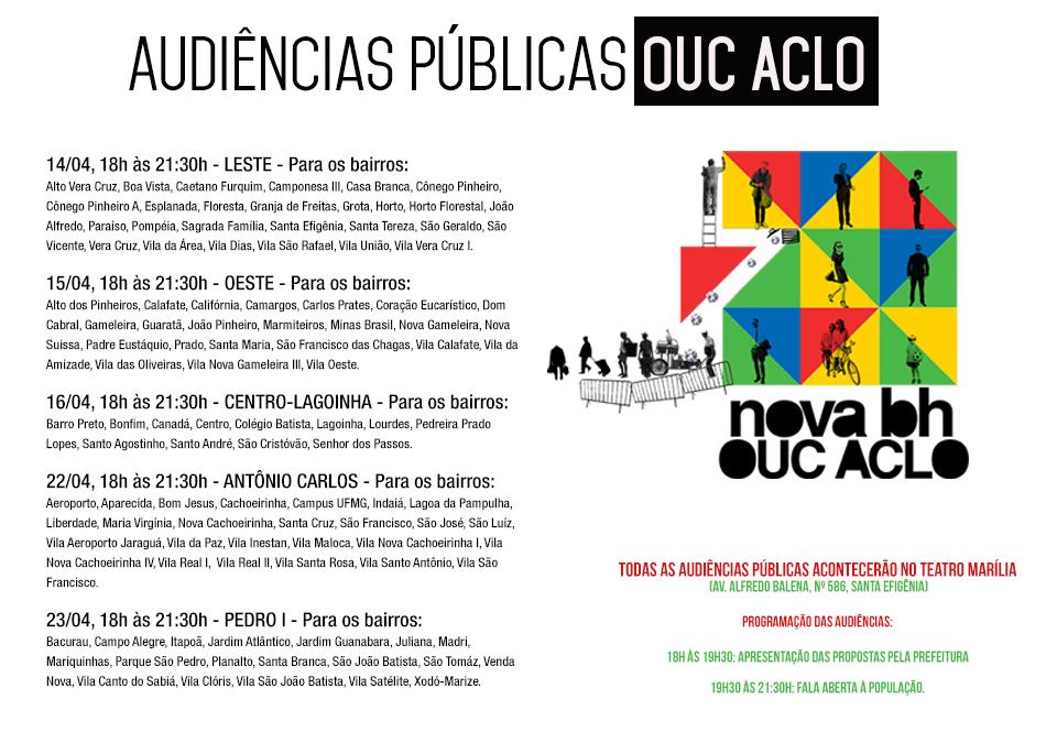 Audiências Públicas OUC ACLO